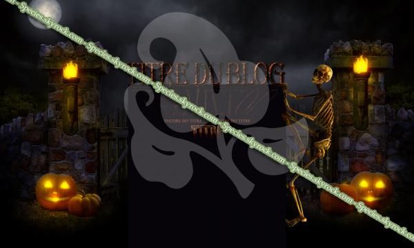 Habillage 31 - Skeleton