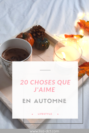 CHOSES A FAIRE EN AUTOMNE