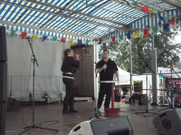 """LA TROUPE """"NORDSUD"""" à ANSTAING (Nord) Le 01/07/2012 en Matinée"""