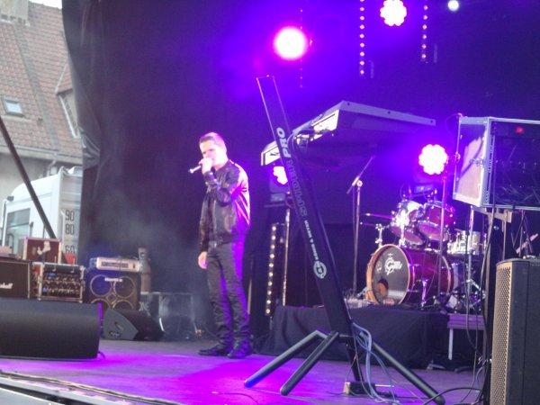 AYMERIC prestation au Portel le 15 juillet 2012