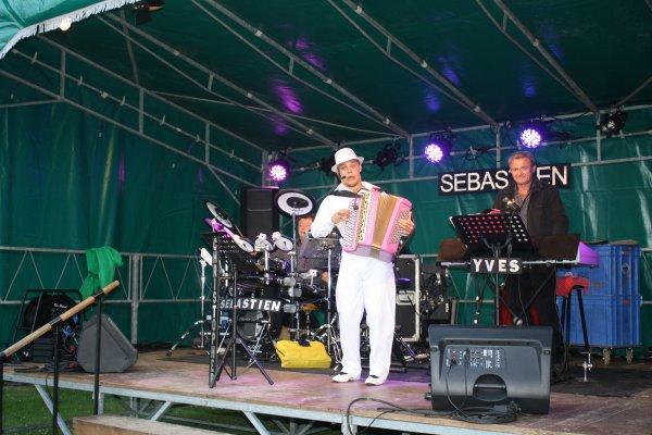 L'Orchestre SEBASTIEN à Avelin le 13 juillet 2012