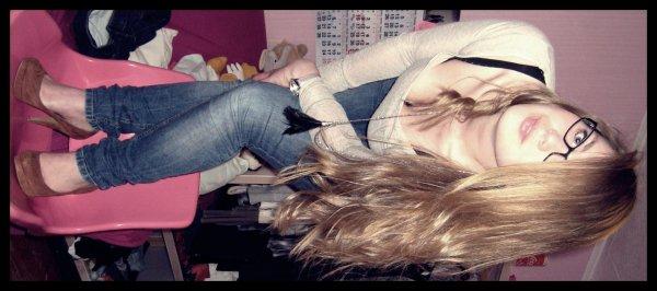 ; Je ne pourrais jamais te dire que je ne t'aime plus.
