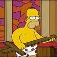 Homer a l'Eglise