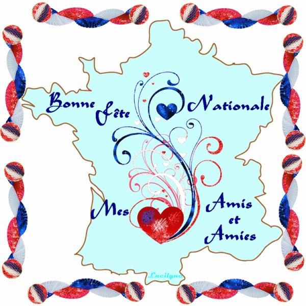 Bon week-end à toutes Mes Amies des quatre coins de France, de Belgique et d'ailleurs.