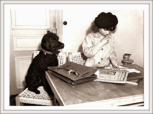 Cartes postales :  Douce France.