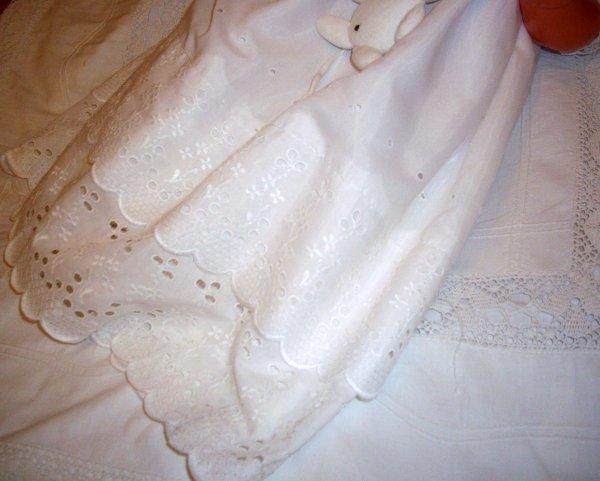 Une jolie robe de Baptême