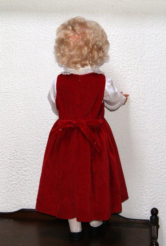 Ma grande Emilie dans sa nouvelle tenue