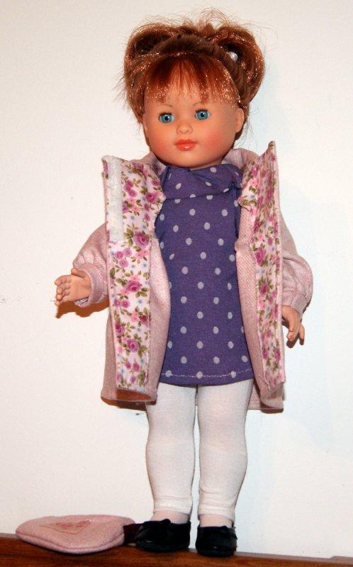 Marie-Françoise et sa nouvelle tenue