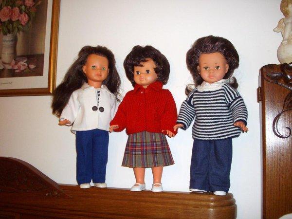 Marie-Claire, Annick et Micheline