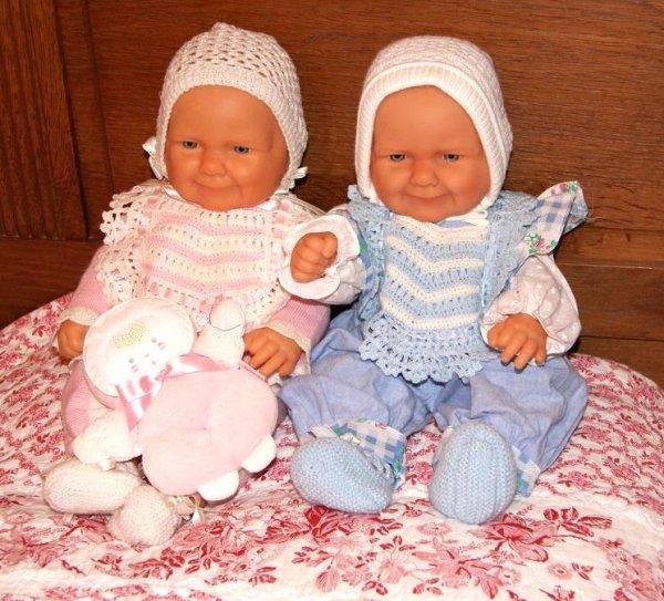 Deux beaux bébés Berenguer