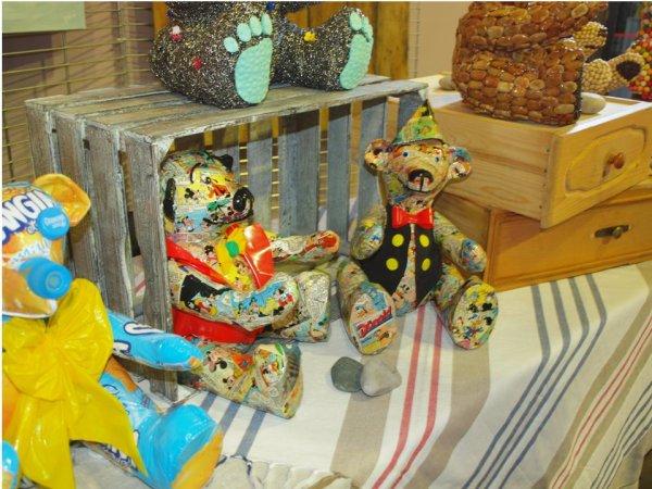 3) Photos du premier salon d'Ours et Poupées à Montélimar