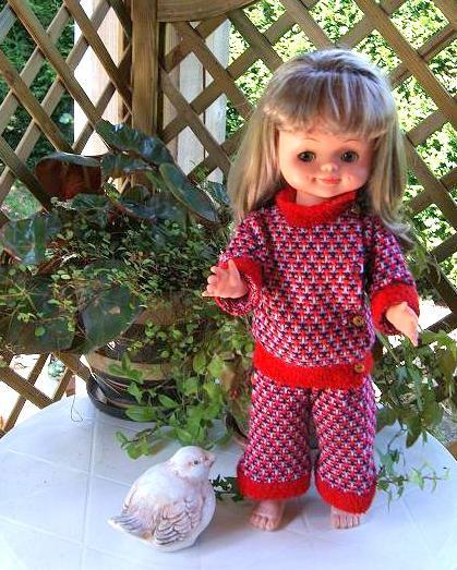 Une nouvelle tenue pour ma Bella de 50 cm