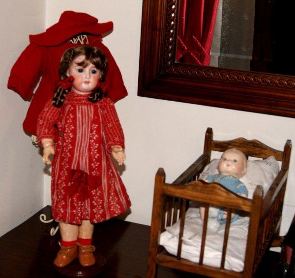 Ma petite poupée Allemande se met à l'aise