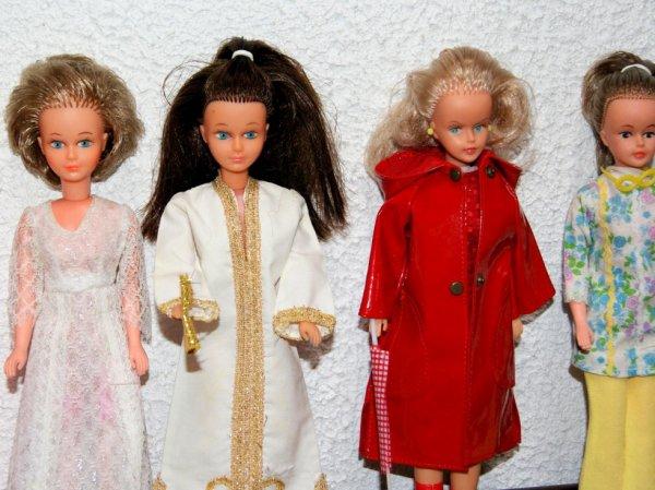 Mes poupées mannequins