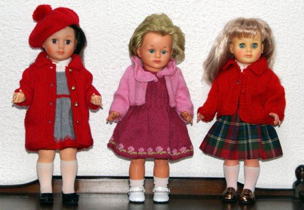 Des tenues plus chaudes pour les petites
