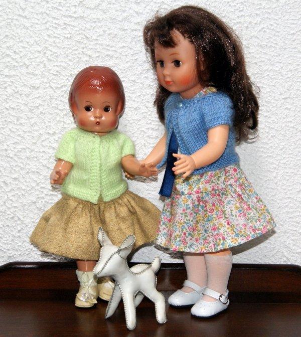 Une petite robe de Modes et travaux d'octobre 1966