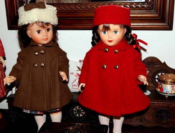 Des jolis petits manteaux