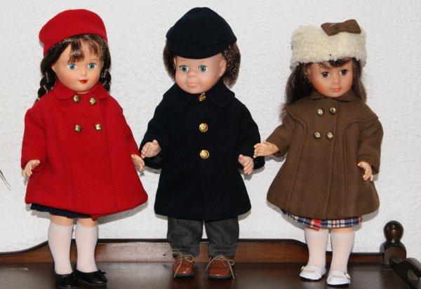 Jean-Michel et ses noveaux manteaux