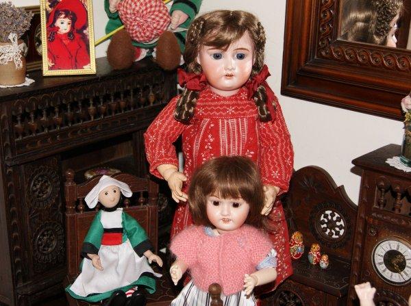 Elisabeth et Bleuette