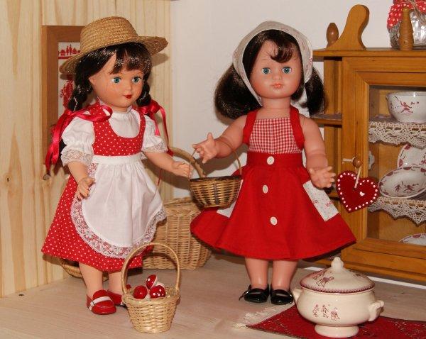 Emilie a rendu visite à ses cousines