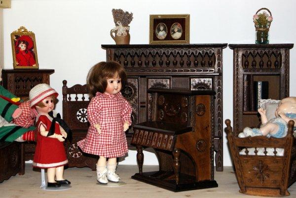 Bleuette et le piano