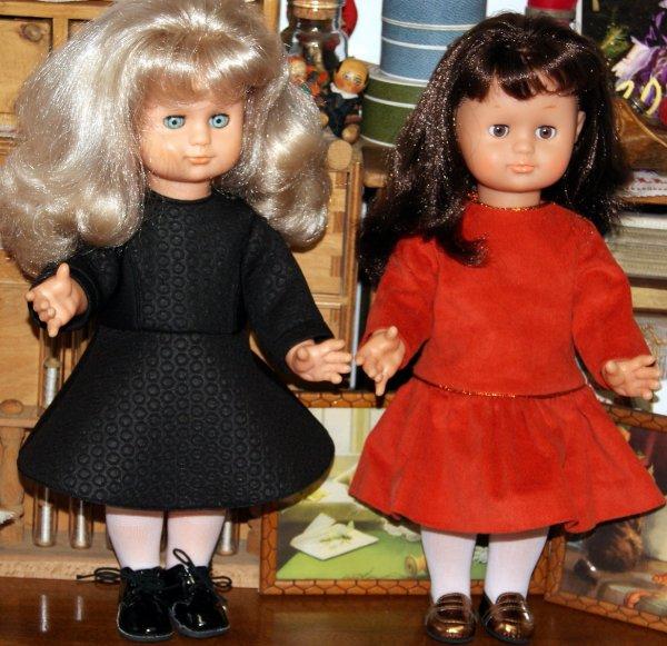 Des petites robes pour mes Emilie