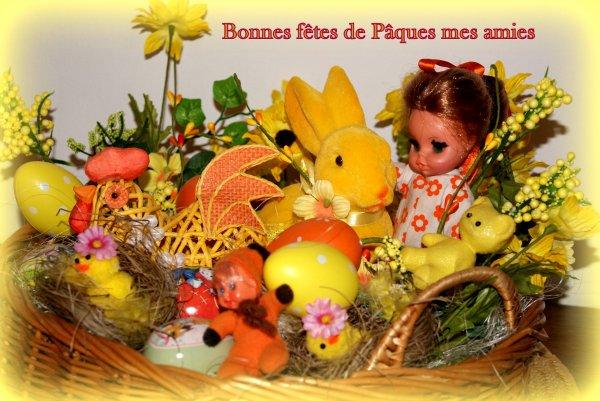 Bonne fêtes de Pâques mes amies