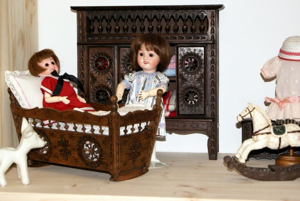 Chambre de Bleuette, Loulette et Bambino