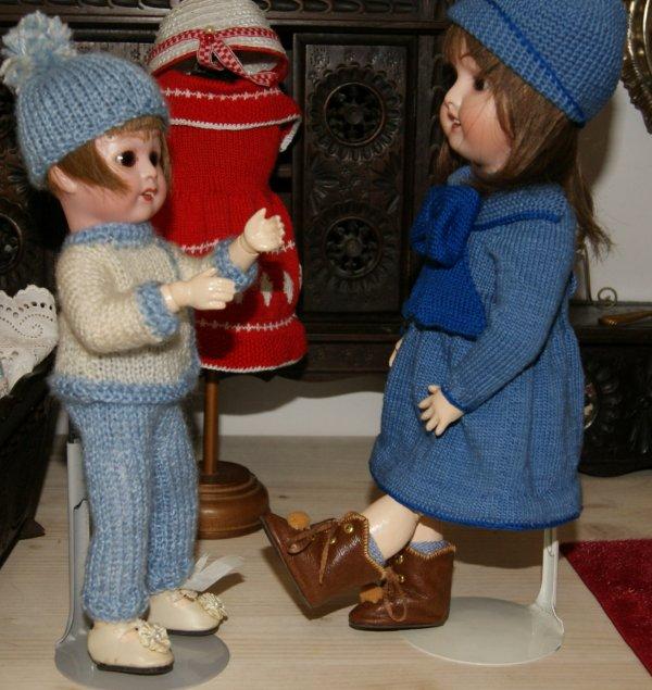 Les petites bottes de Bleuette