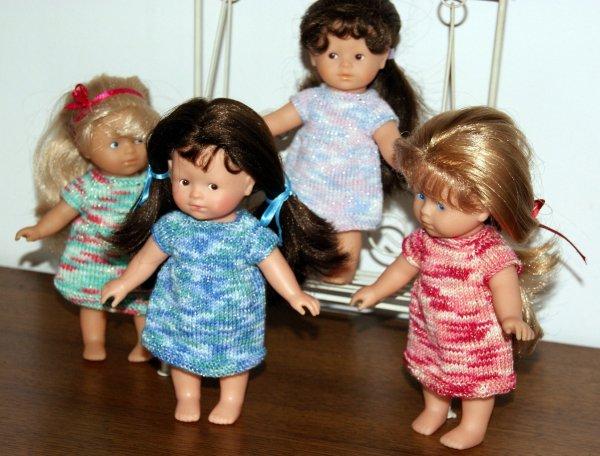 Des petites robes pour mes mini