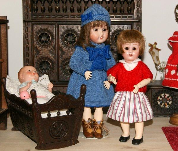 Loulotte et ses nouvelles tenues