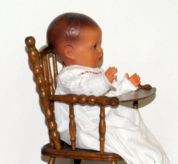 Petite chaise haute