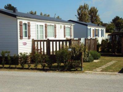 les emplacement residentiel du camping
