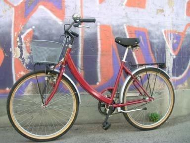 Bicicletta Rossa Volarevolando994