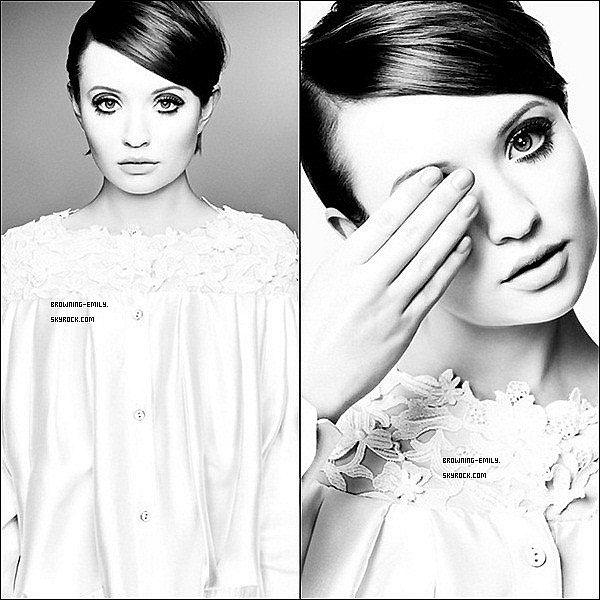 . Decouvre ou redécouvre un photoshoot d'Emily par Robert Erdman datant de 2011     .
