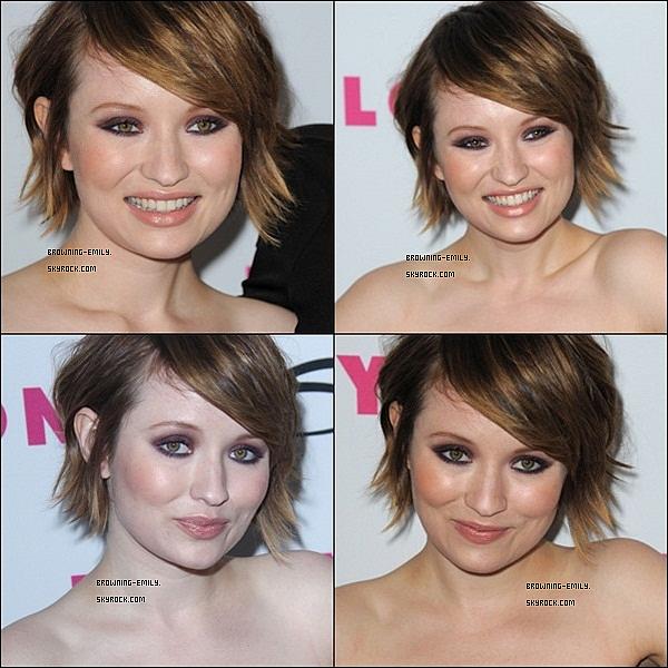 . 24 Mars 2011__Emily Browning au douzième anniversaire du magazine Nylon     .