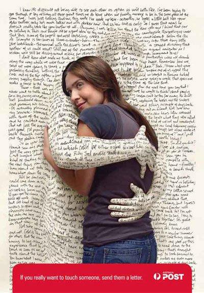 Réponse lettre romantique