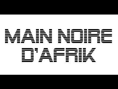 La Main Noir D'afrik