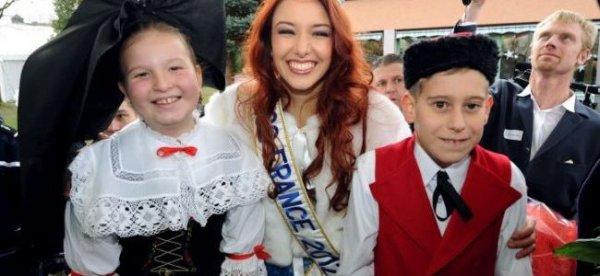Miss France revient dans son village
