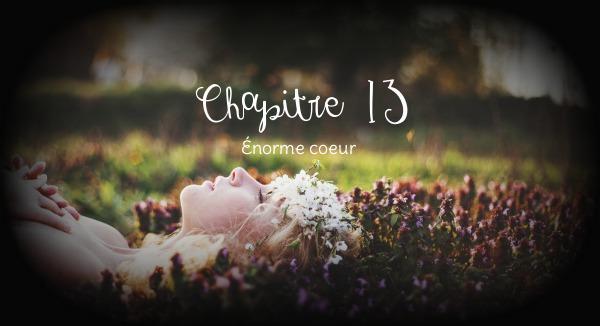 Chapitre XIII ~ Énorme coeur