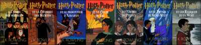 La saga Harry Potter de J.K Rowling