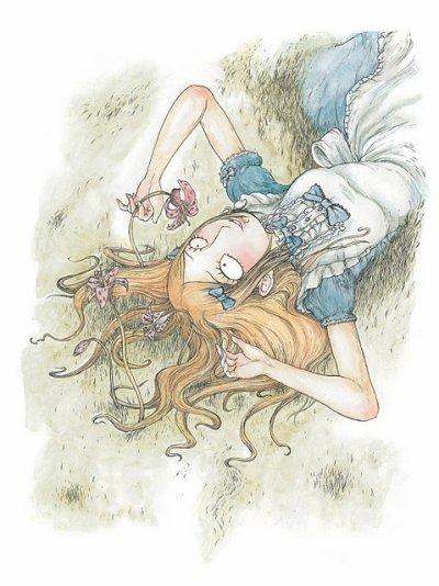 Alice au pays des merveille de François Amoretti