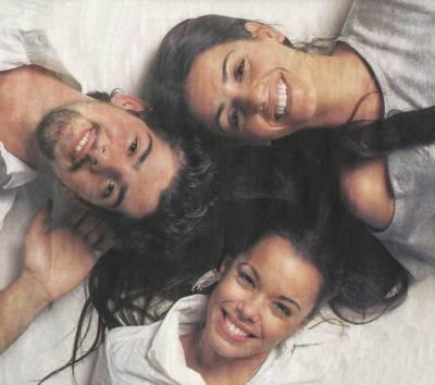 Roberto, Pedro, Silvia, Ingrid et Lola
