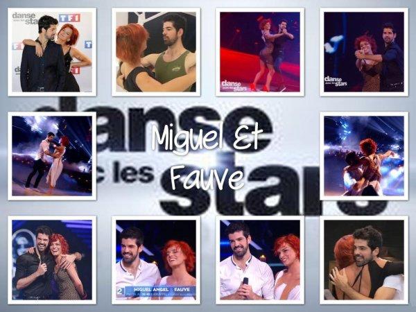 Un beau parcours ! Miguel & Fauve Danse avec les stars