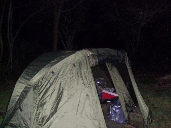Retour de session hivernale 48h00 sur le lac de bosméléac.(suite)