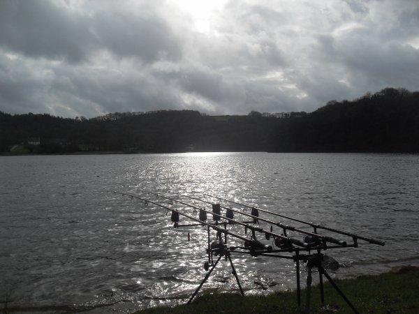 Retour de session hivernale 48h00 sur le lac de bosméléac.(1)