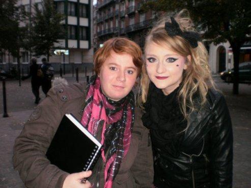Lucie de la nouvelle star et moi