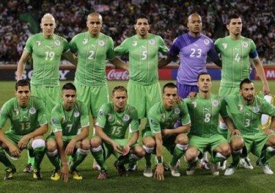 l'équipe ALGERIENNE