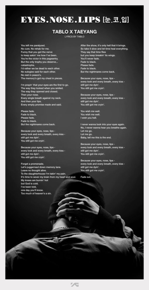 TABLO X TAEYANG - '눈,코,입(EYES, NOSE, LIPS)' COVER VIDEO