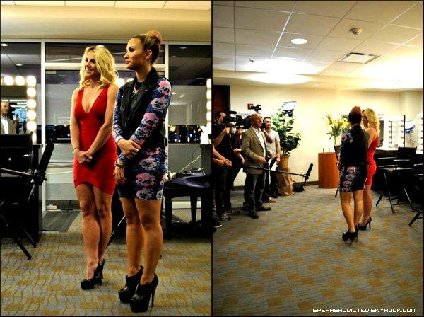 Interview de Britney et Demi Lovato par Rhode Show